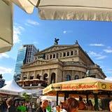 Operazione di Francoforte Alte Fotografie Stock Libere da Diritti