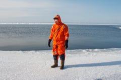 Operazione di salvataggio marina Fotografie Stock