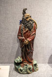 Opere d'arte fatte della scultura ceramica a Guangdong, Foshan e Shiwan Fotografie Stock