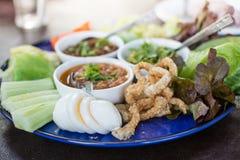 Opere del ` di Hors d di alimento tailandese tradizionale nordico Fotografia Stock