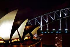 Operen-Brücke Stockbild