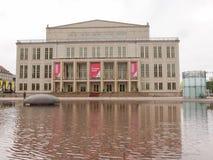 Operhaus莱比锡 免版税库存照片