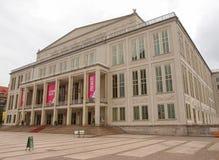 Operhaus Leipzig Royalty-vrije Stock Afbeeldingen