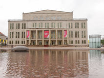 Operhaus Leipzig Royaltyfri Foto