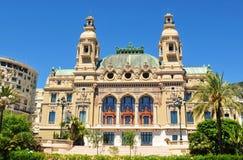 Opernde Monte Carlo lizenzfreie stockfotografie