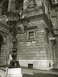 Opernhaus in Budapest - Schwarzweiss Lizenzfreies Stockbild