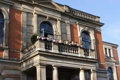 Opernhaus - Richard Wagner Bayreuth Stockfotos