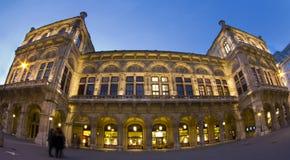 Opernhaus, Wien, Österreich Stockbilder
