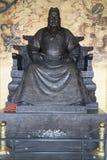 Opfer im chinesischen Tempel stockfoto