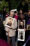 Opfer von Francos Diktatur 1 Stockbild