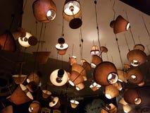 Opgeheven lampen Royalty-vrije Stock Foto's