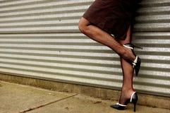 Opgeleverde benen Stock Foto's