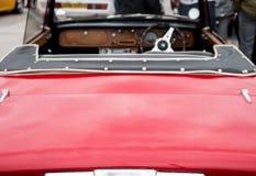 Opgepoetste Rode Carrosserie stock foto's