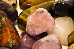 Opgepoetste rotsen en stenen Royalty-vrije Stock Fotografie
