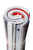 Opgerolde Tijdschriften Stock Afbeelding