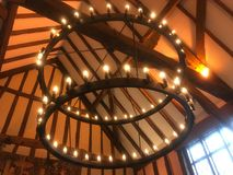 Opgeschorte Lichten stock foto