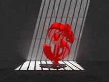 Opgesloten Rode Bok 05i2 Royalty-vrije Stock Afbeelding