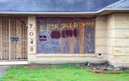 Opgesplitst huis Stock Foto