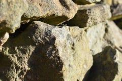 Opgestapelde omhoog rotsen Royalty-vrije Stock Afbeeldingen