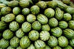 Opgestelde watermeloen royalty-vrije stock foto's