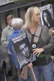 Opgevoerde de Denen protesteren verzameling Royalty-vrije Stock Foto's