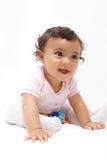 Opgewekte Baby Royalty-vrije Stock Fotografie