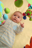 Opgewekte Baby Royalty-vrije Stock Foto