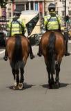 Opgezette Metropolitaanse Politie stock afbeeldingen