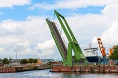Ophaalbrug Stock Foto