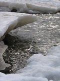 Opheldering van de rivier Stock Foto's