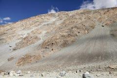 Ophiolite mafic volcanics in ladakh Stock Images
