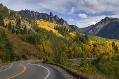 Ophir Needles in Fall Stock Photography