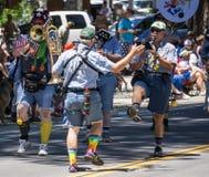 Ophir Prison Marching Kazoo Band Lizenzfreie Stockfotografie