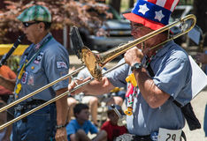 Ophir Prison Marching Kazoo Band Royalty Free Stock Images