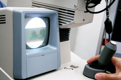 ophtalmologic的设备 免版税图库摄影