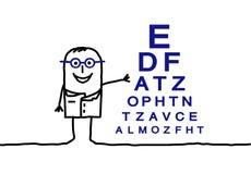 Ophtalmologiste Photos stock