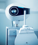 Ophthalmic equipment. Medical laboratory. Care Stock Images