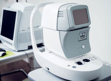 Ophthalmic equipment. Medical laboratory. Care Royalty Free Stock Photos