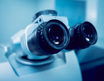 Ophthalmic equipment Stock Photo