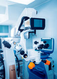 Ophthalmic equipment. Medical laboratory. Care Royalty Free Stock Photo