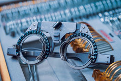 Ophthalmic equipment. Medical. Ophthalmic equipment. Medical laboratory. Care Stock Photography