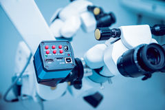 Ophthalmic equipment. Medical. Laboratory. Care Royalty Free Stock Photography