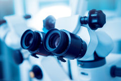 Ophthalmic equipment. Medical. Laboratory. Care Royalty Free Stock Photos