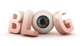 Ophthalmologic blog Stock Images
