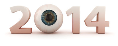 Ophthalmologic year Royalty Free Stock Photo