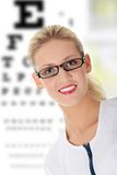 ophthalmologist Royaltyfri Bild
