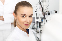 Ophthalmologist. Royalty Free Stock Image