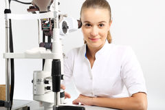 Ophthalmologist. Royalty Free Stock Photography
