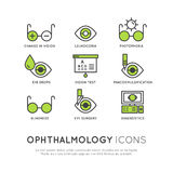 Ophthalmology Healthcare, Medical Diagnosis Royalty Free Stock Image
