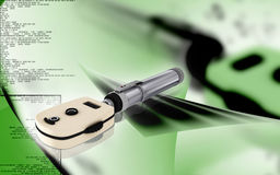 Ophthalmoscope Stock Photos
